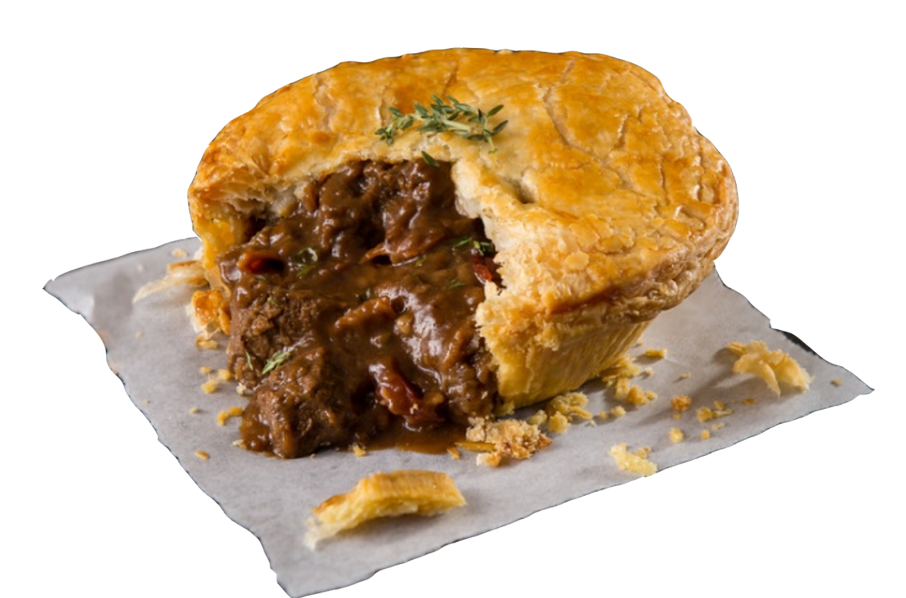 Pouch Pie - Steak, Bacon & Ale Pie, 9oz