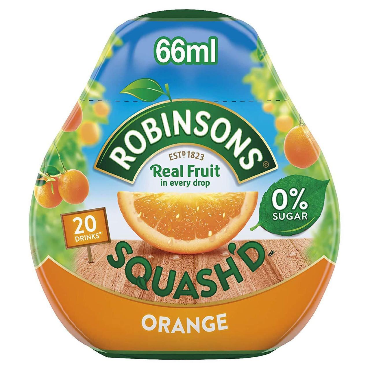 Robinsons Squash'd - Orange, 66ml