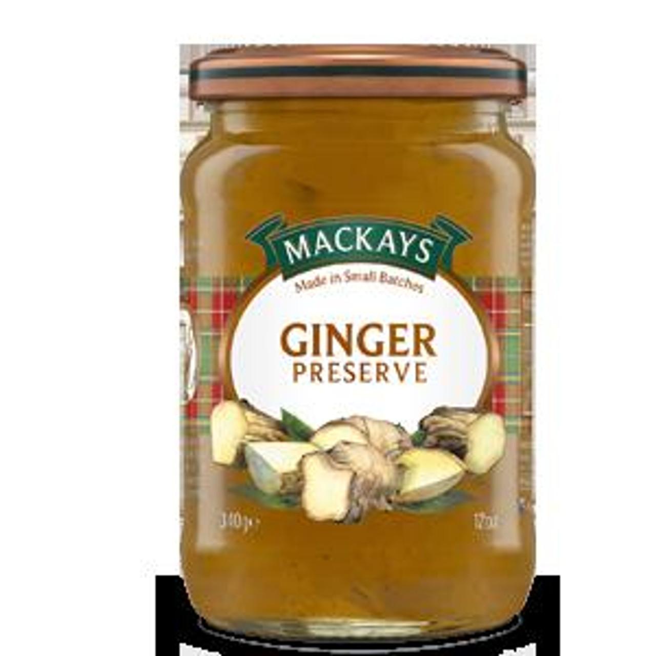 Mackays - Ginger Preserve, 340g