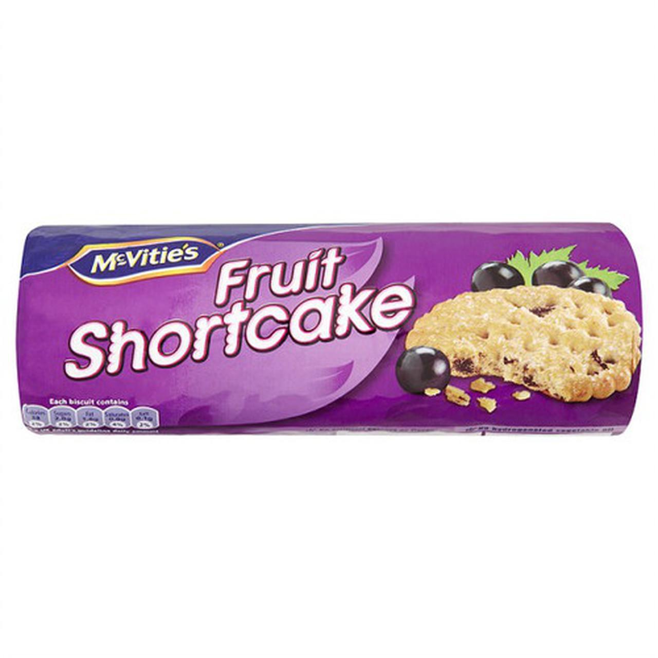 McVitie's Fruit Shortcake, 200g