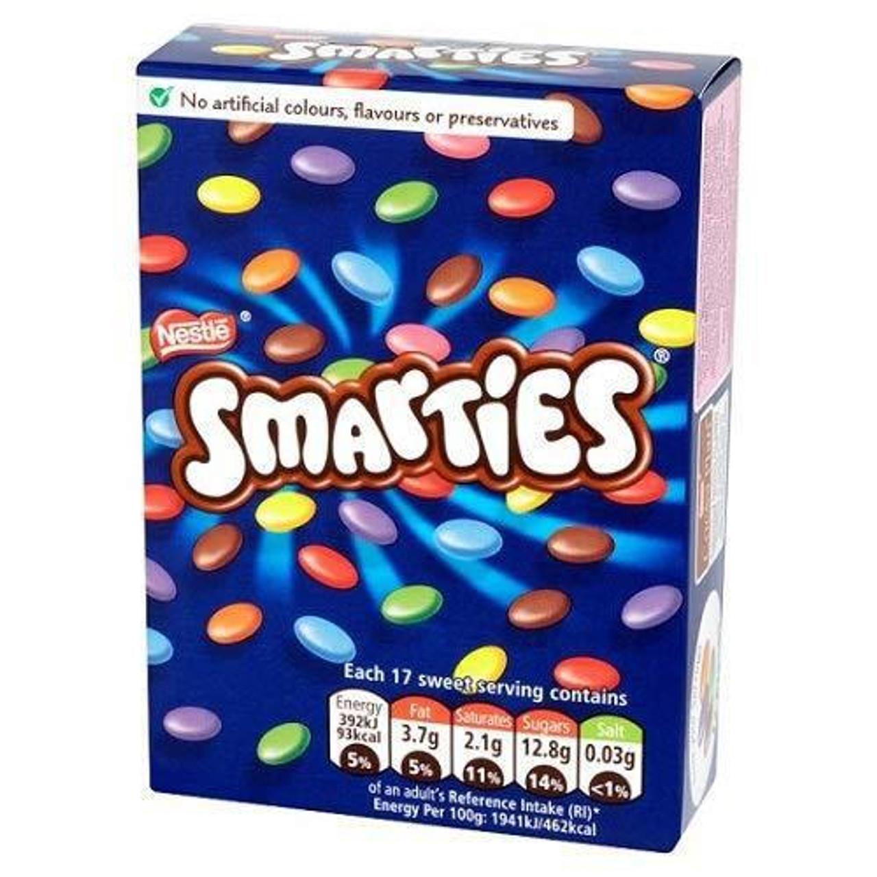 Nestle - Smarties, 120g carton
