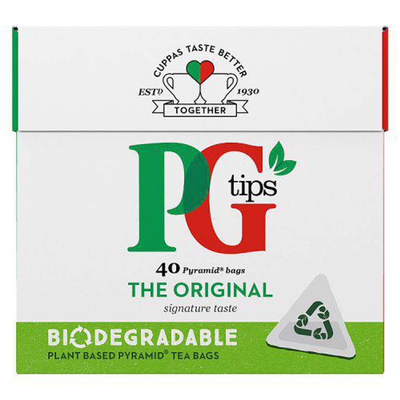 PG Tips, 40 pyramid teabags