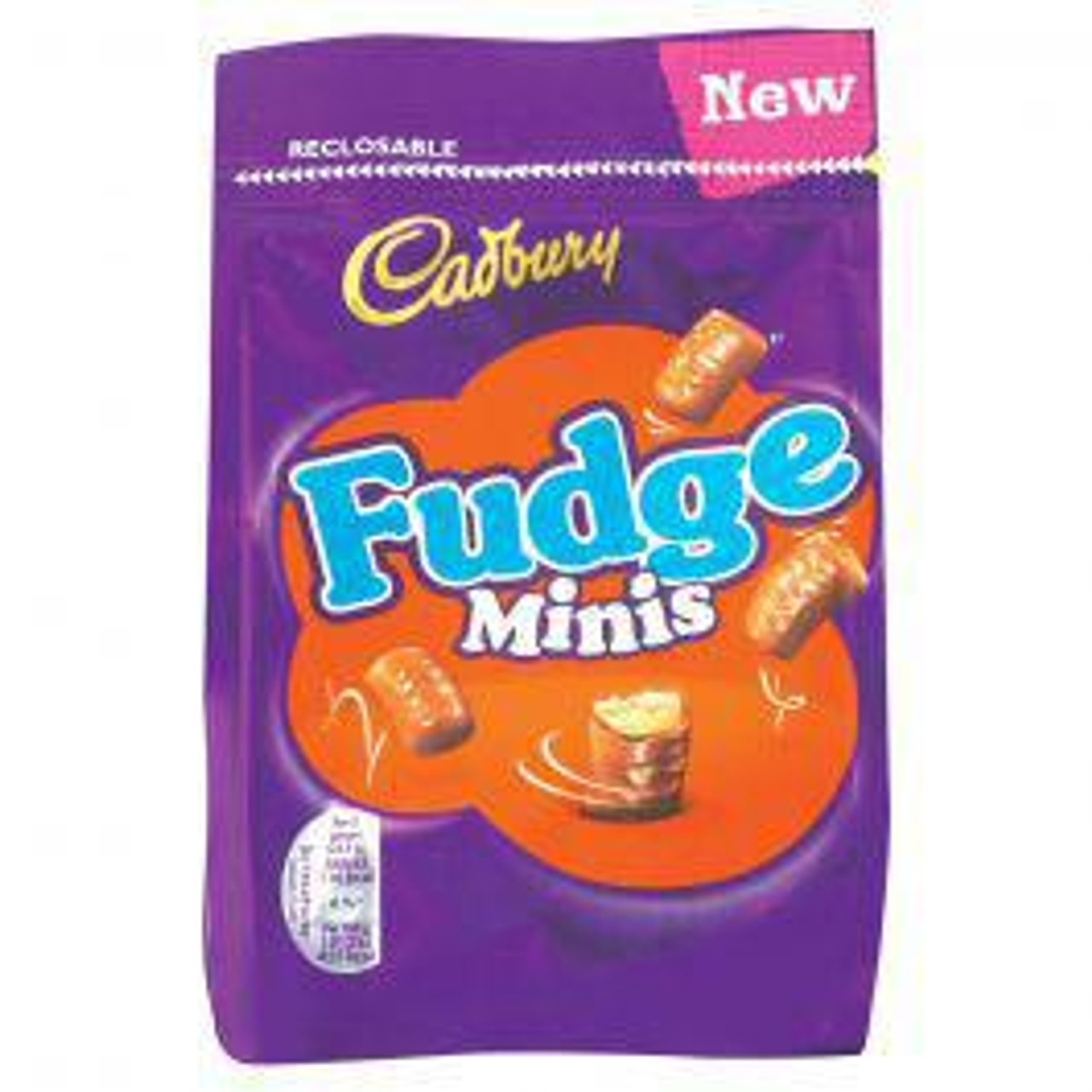 Cadbury - Fudge Bites, 120g