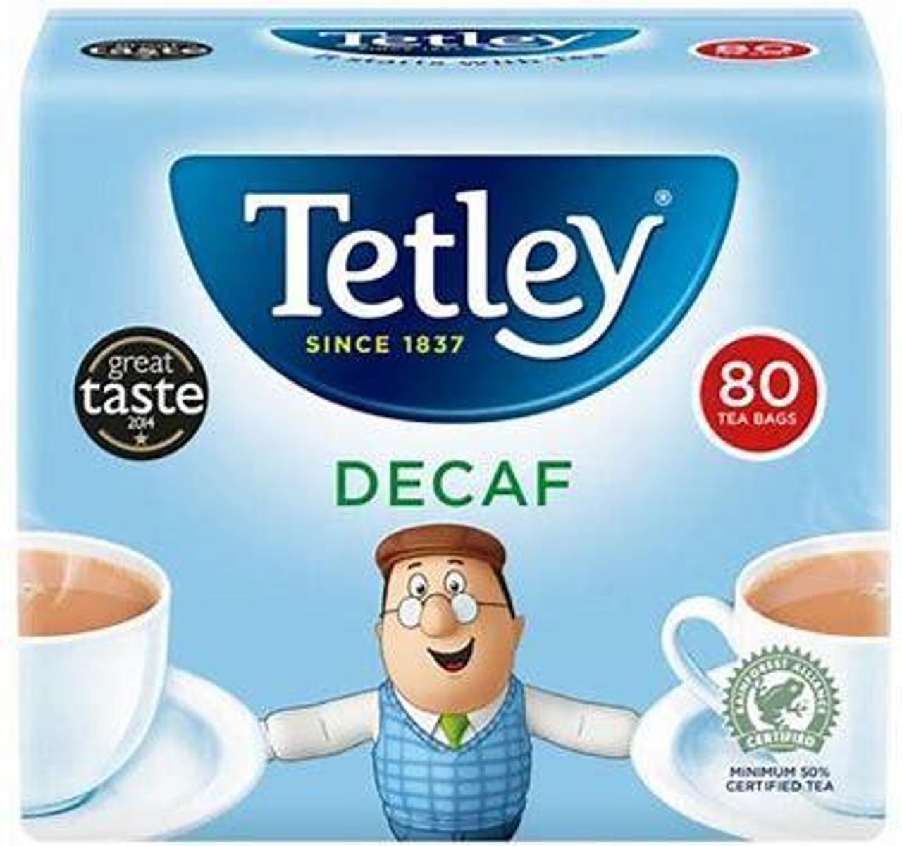 Tetley Decaf Tea Bags 80ct