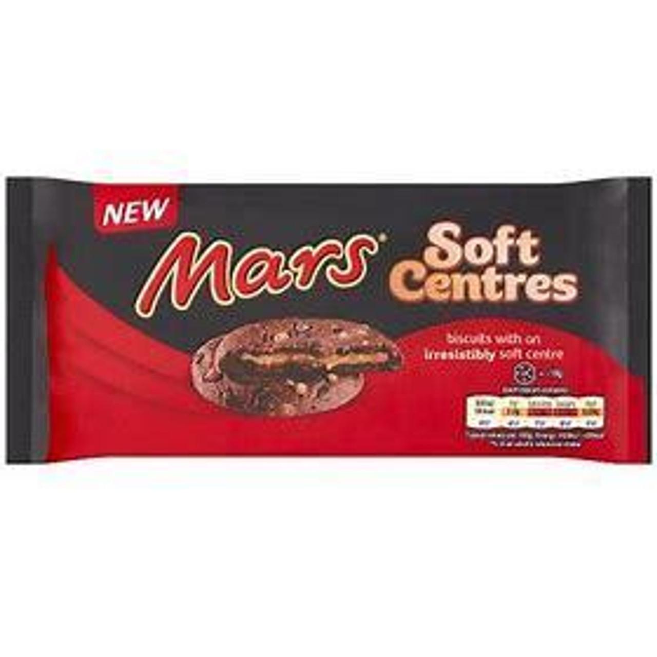 Mars Soft Center Biscuits 144g