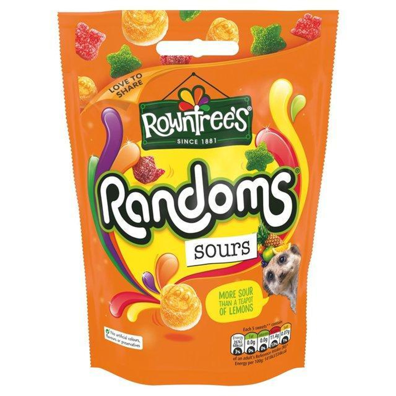 Rowntrees Random sours