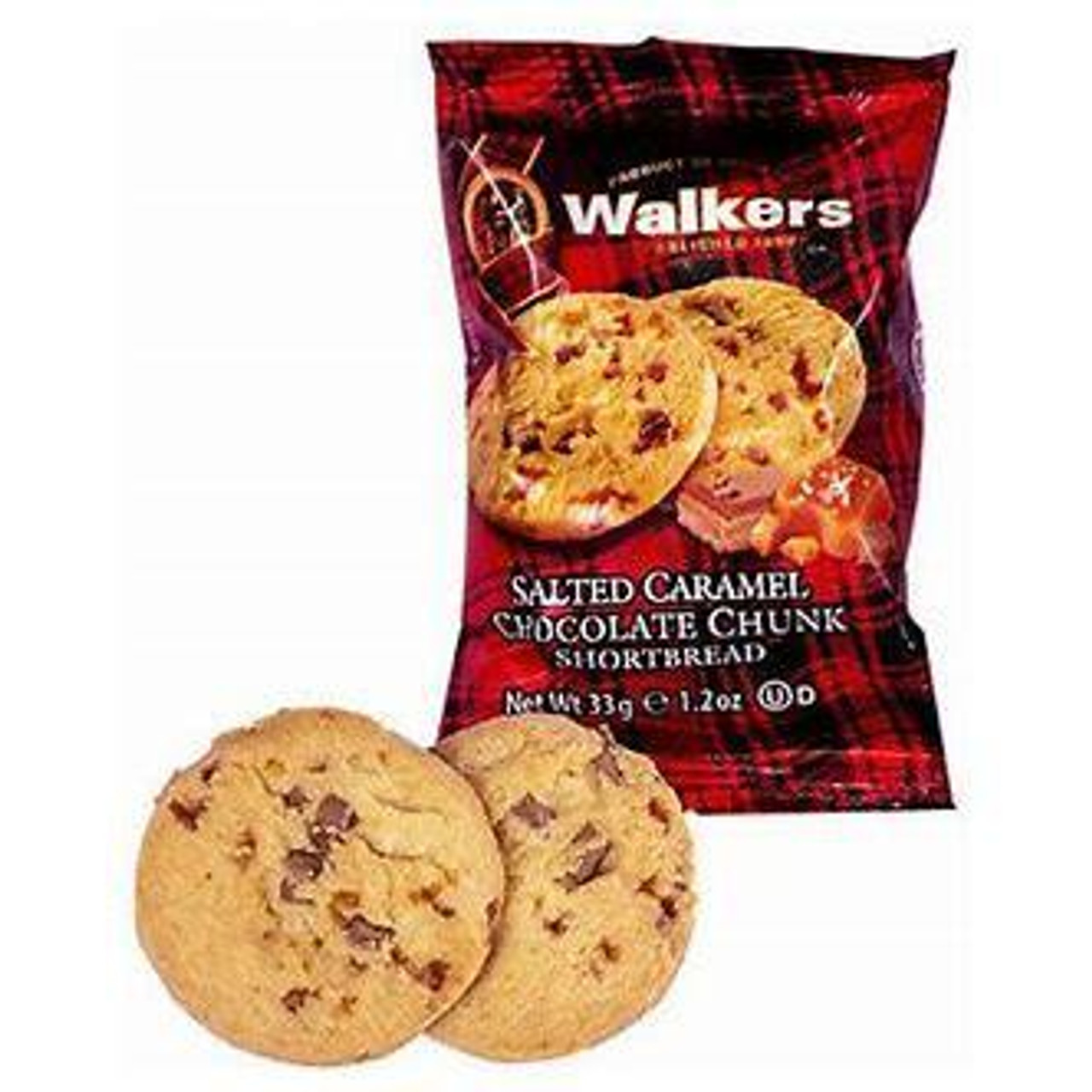 Walkers Shortbread 2 Pack Salted Caramel & Chocolate Chunk Shortbread