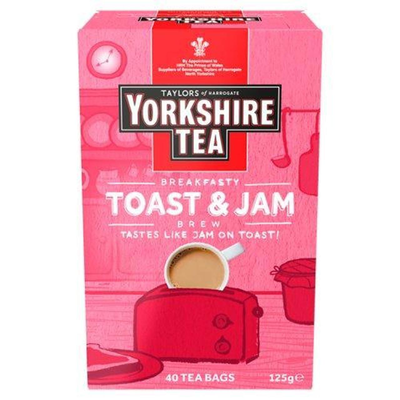 Taylors of Harrogate - Yorkshire Toast & Jam Brew 40 Tea Bags