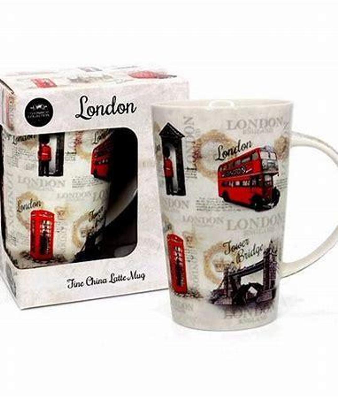 Lesser & Pavey Vintage London Latte Mug