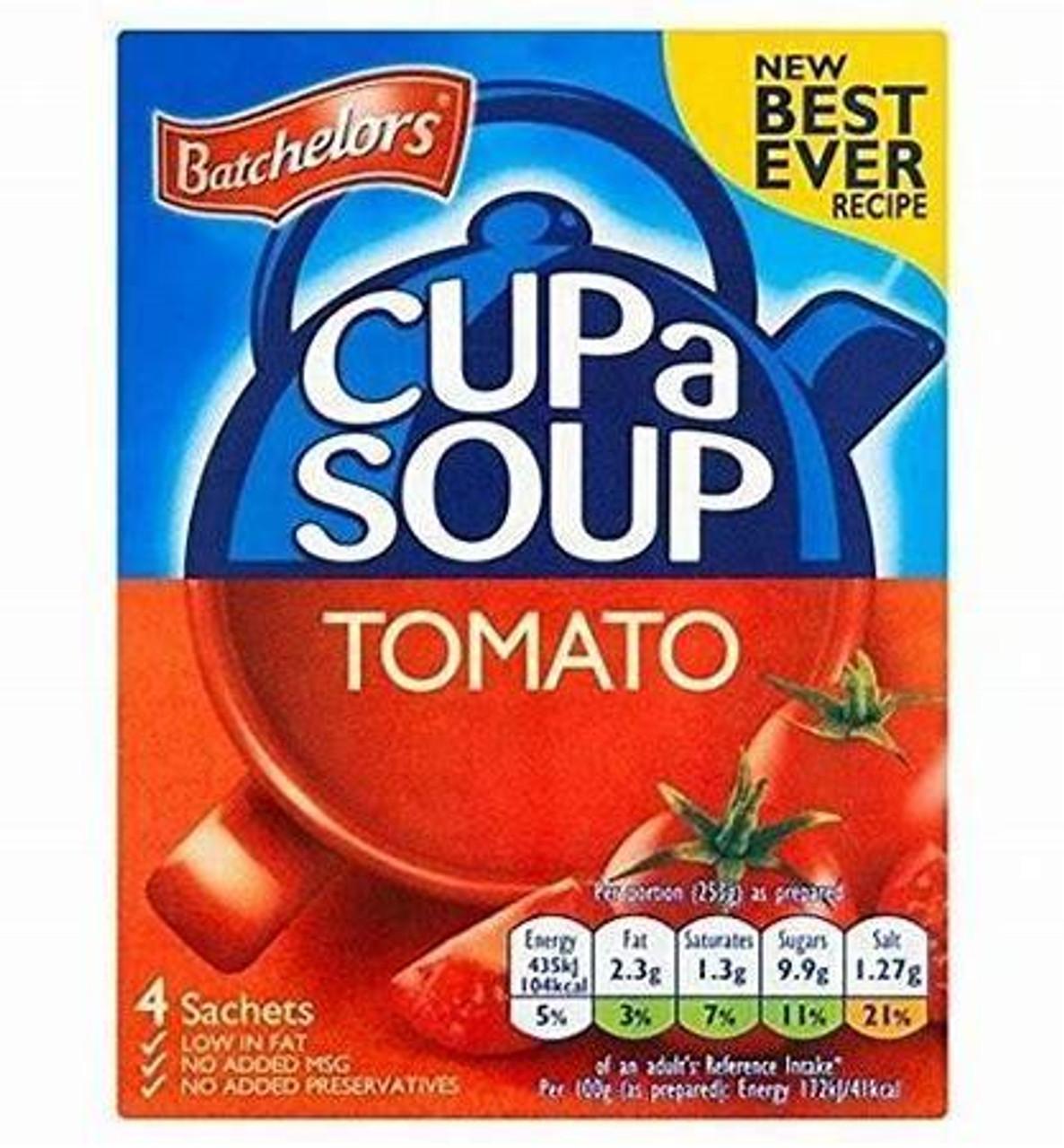 Batchelors Cup-A-Soup Tomato 4pk