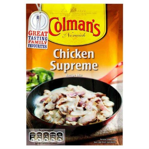 Colman's Chicken Supreme Mix, 38g
