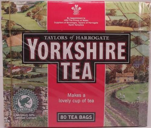 Taylors of Harrogate - Yorkshire Red Tea - 80 Tea Bags