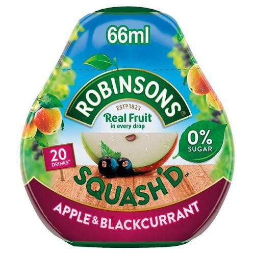 Robinsons Squash'd - Apple & Blackcurrant, 66ml