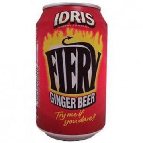 IDRIS Fiery Ginger Beer, 330ml