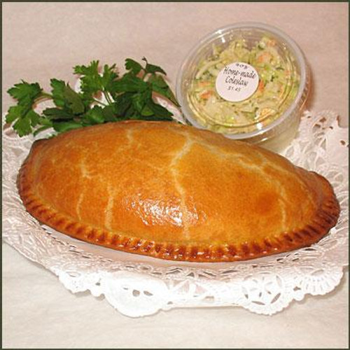 4&20 Pasty Co - Cheese & Onion Pasty, 7oz