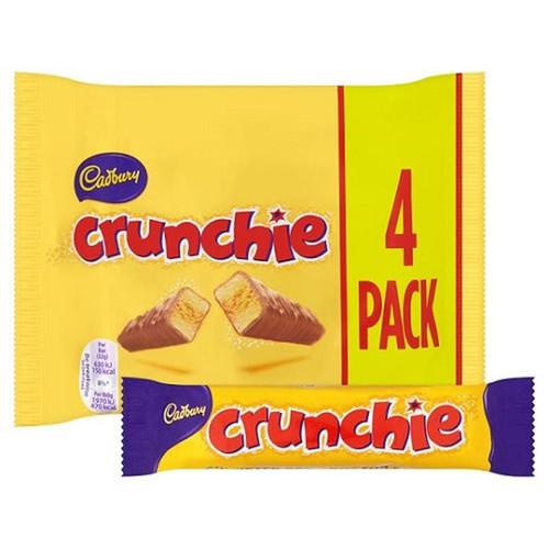 Cadbury - Crunchie, 4pk