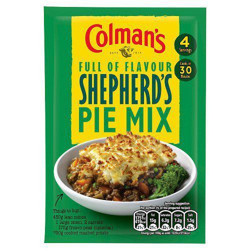 Colman's Shepherd's Pie Mix, 50g