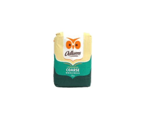 Odlums - Coarse Wholemeal Flour, 2kg