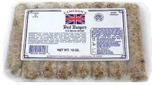 Cameron's Beef Bangers, 13oz