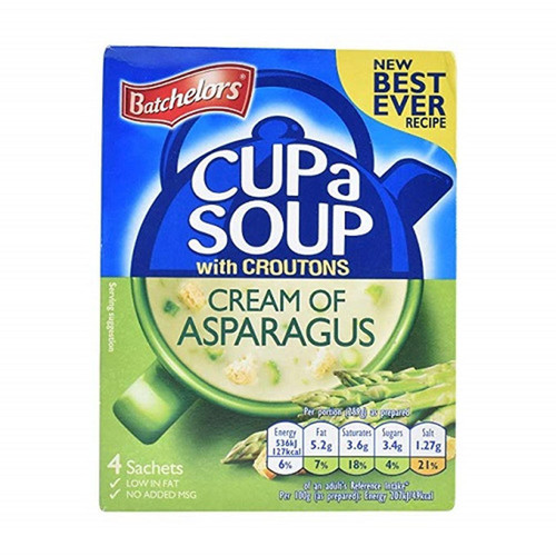 Batchelors Cup-A-Soup - Tomato & Vegetable, 4pk