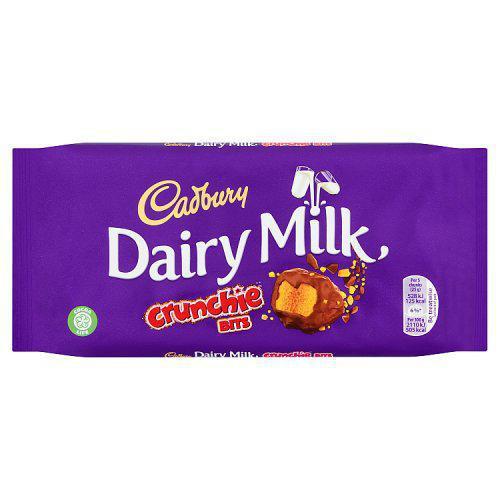 Cadbury - Dairy Milk with Crunchie Bits, 200g