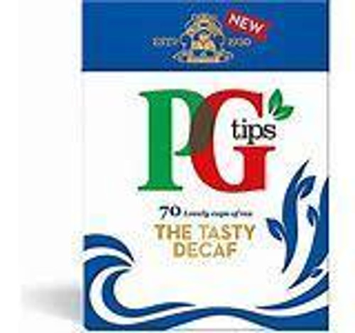 PG Tips - Decaf, 70 pyramid teabags