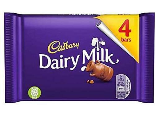 Cadbury - Dairy Milk 4pk (117.2g)