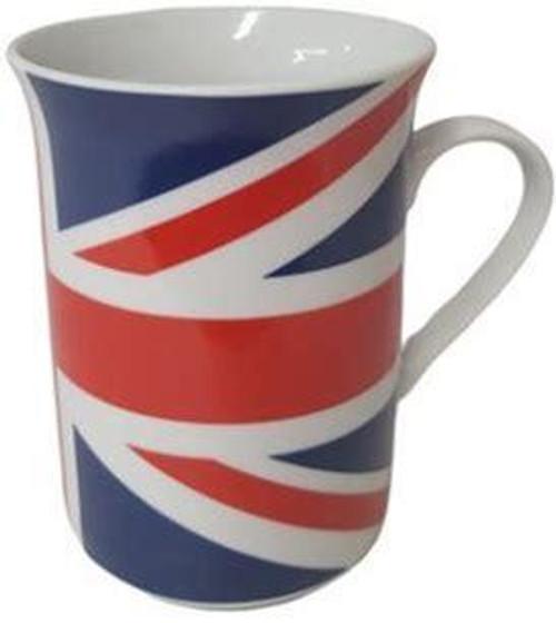 Union Jack All Over Design Lippy Mug