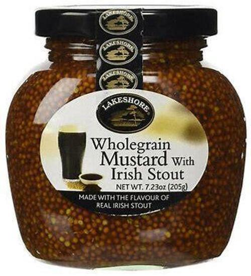 Lakeshore Irish Stout Mustard 205g