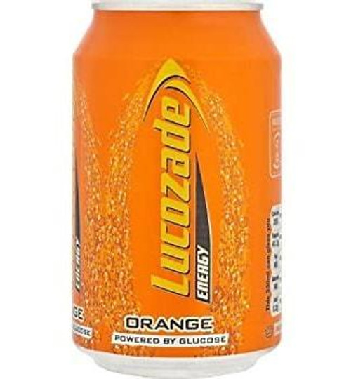 Lucozade Orange Can 330ml