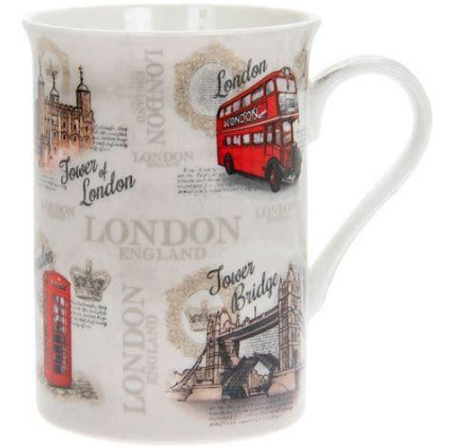 Lesser & Pavey Vintage London Lippy Mug