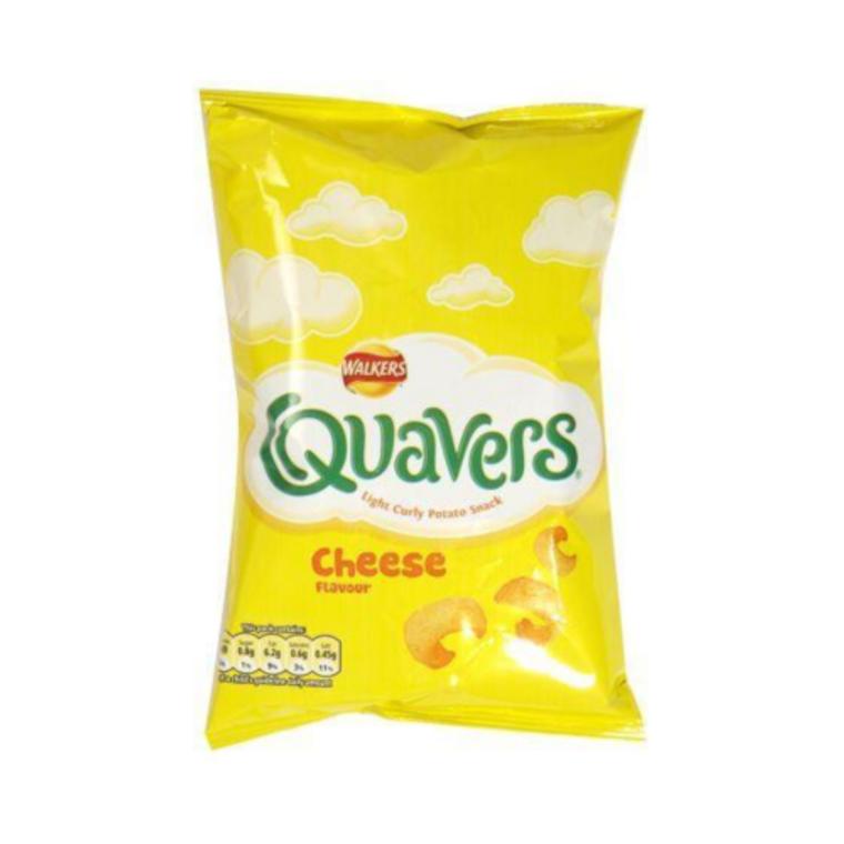 Walkers Crisps - Quavers, 20g
