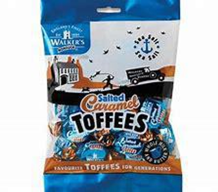Walker's Nonsuch - Salted Caramel Toffees, 150g
