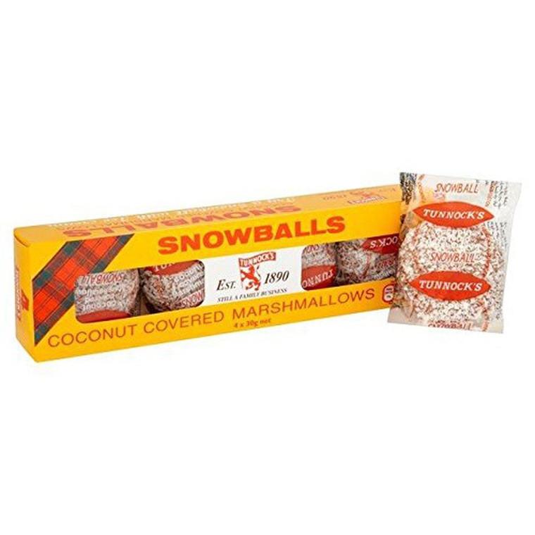 Tunnock's Snowballs, 4pk