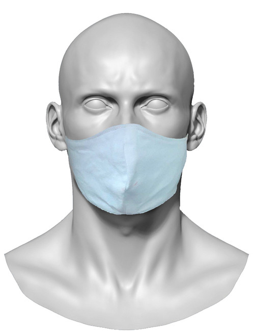 Reusable Face mask. made with 2 layers of cotton.. Washable and reusable.