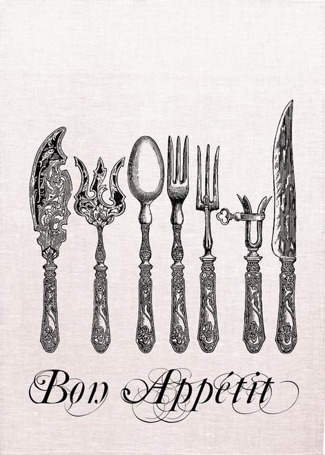 High Tea, Bon appetit vintage cutlery display, HTDT_508_KT