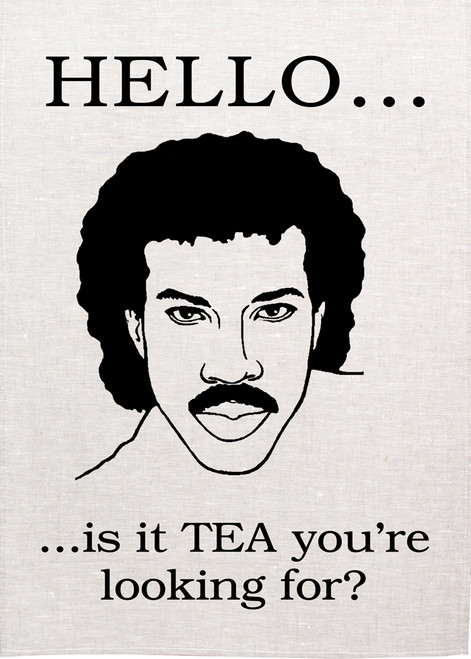 High Tea, Hello is it tea you are look for, Printed Tea Towel, Tea04_KT