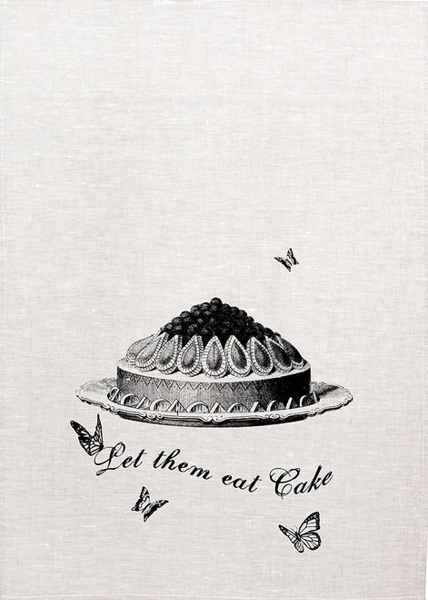 High Tea, Let them eat cake, Printed Tea Towel, HT123_KT