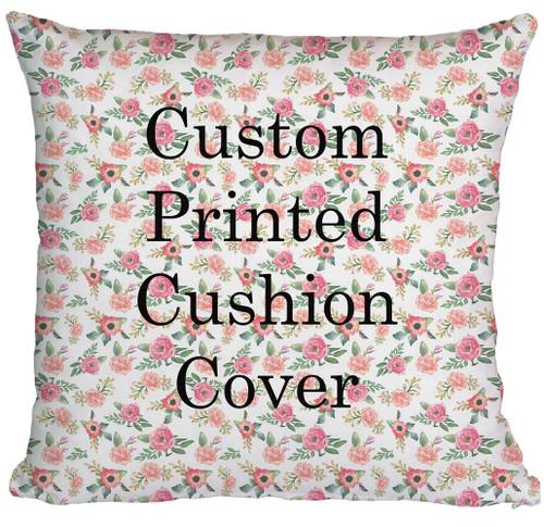 custom printing of cushion cover, custom printing on cushion cover printed in Australia