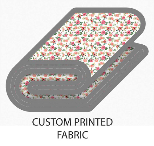 Custom Printed fabric in cotton and linen