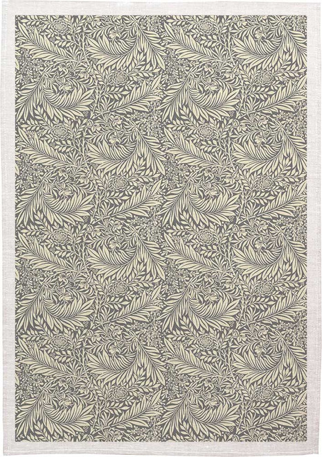 William Morris Tea Towel WM04 grey background