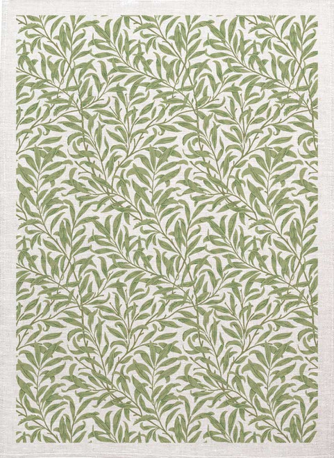 William Morris Tea Towel WM79 willow bough pattern Made in Australia