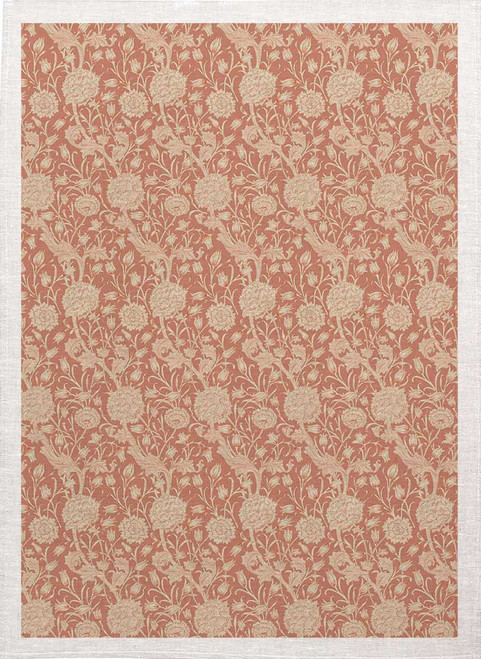 William Morris Tea Towel WM83 floral pattern, Made in Australia