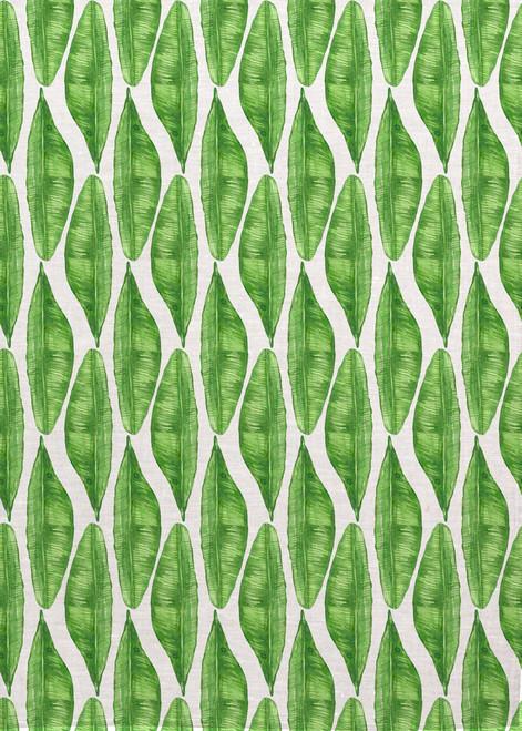 Broad Leaf Pattern on tea towel, Made in Australia