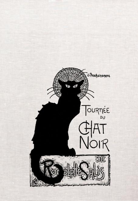 Chat Noir Teatowel