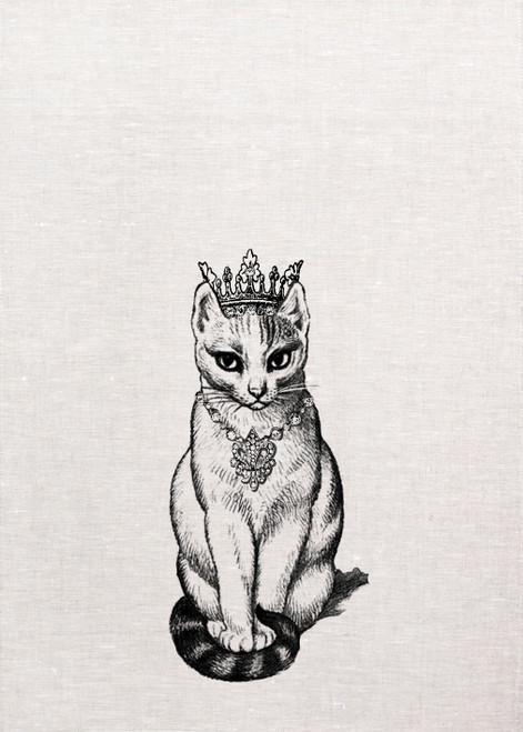 Princess Cat, teatowel