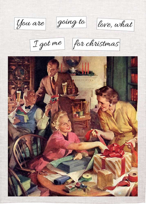 You Are Going To Love  Christmas Tea Towel