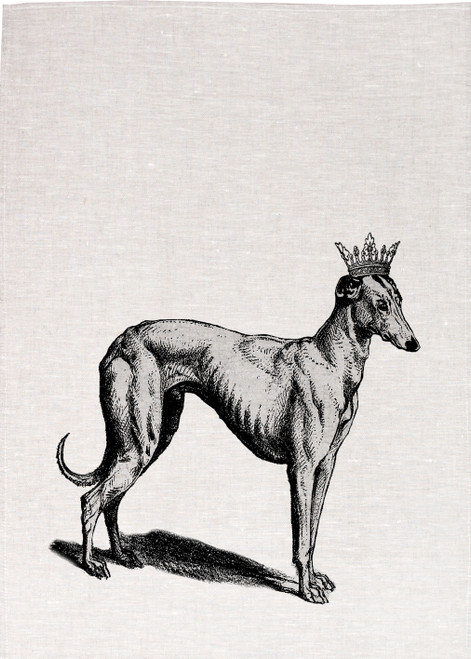 Royal Grey Hound , Made in Australia Teatowel