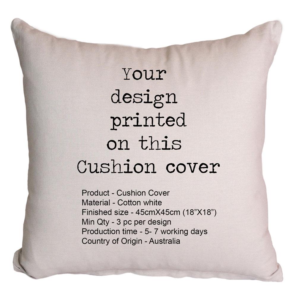 Custom Printing Cushion Cover Australia | Digital Textile Printing Australia