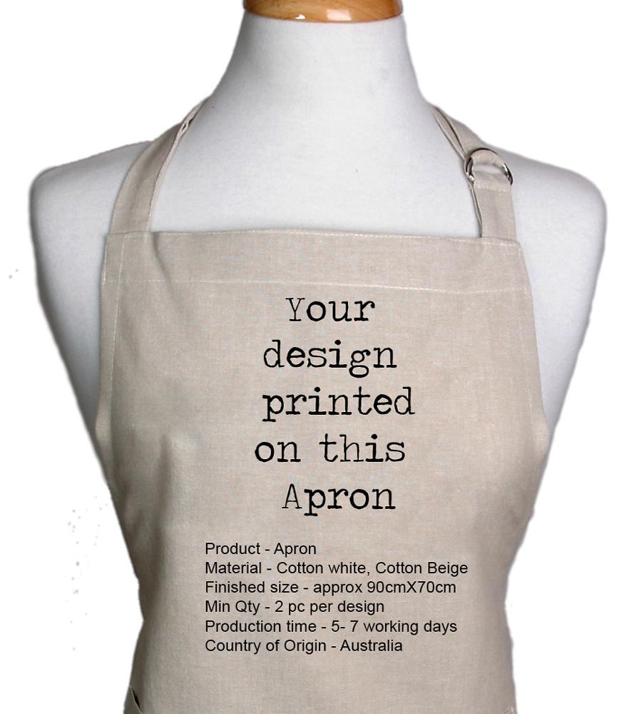 Custom Printing Aprons Australia | Digital Textile Printing Australia